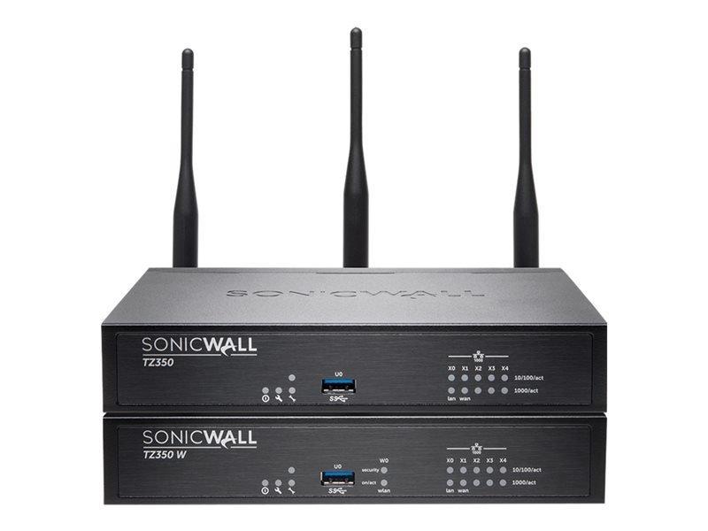 SonicWall TZ350 Wireless-AC Security Appliance