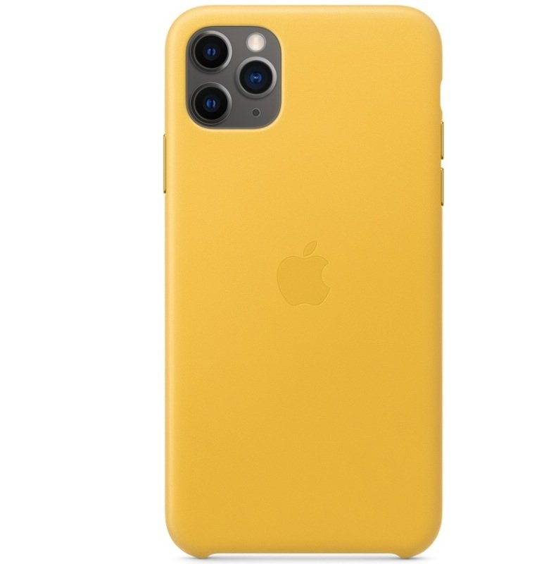 Apple iPhone 11 Pro Max Lather Case Meyer Lemon