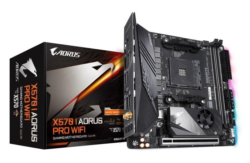 EXDISPLAY Gigabyte X570 I AORUS PRO WIFI AM4 DDR4 mITX Motherboard