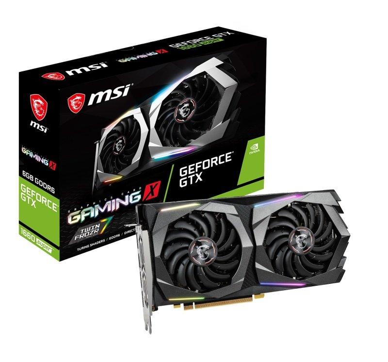 MSI GeForce GTX 1660 SUPER GAMING X 6GB Graphics Card