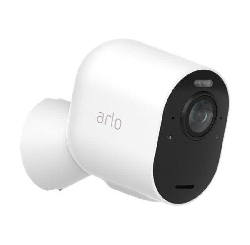 Arlo Ultra Smart Home Security Cameras | Alarm | Rechargeable | Colour Night Vision | Indoor/Outdoor | 4K UHD | 2-Way Audio | Spotlight | 180° View | Add on camera - SmartHub needed | VMC5040