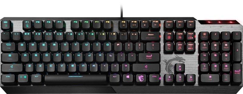 MSI Vigor GK50 Low Profile Mechanical Gaming Keyboard UK Layout