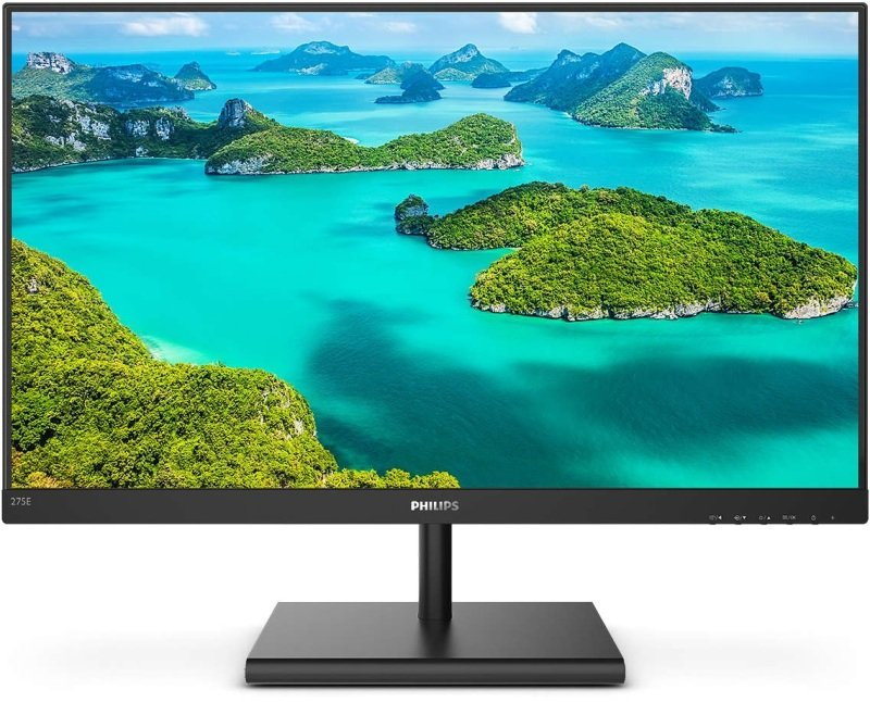 "Philips E-Line 275E1S/00 27"" QHD IPS Monitor"