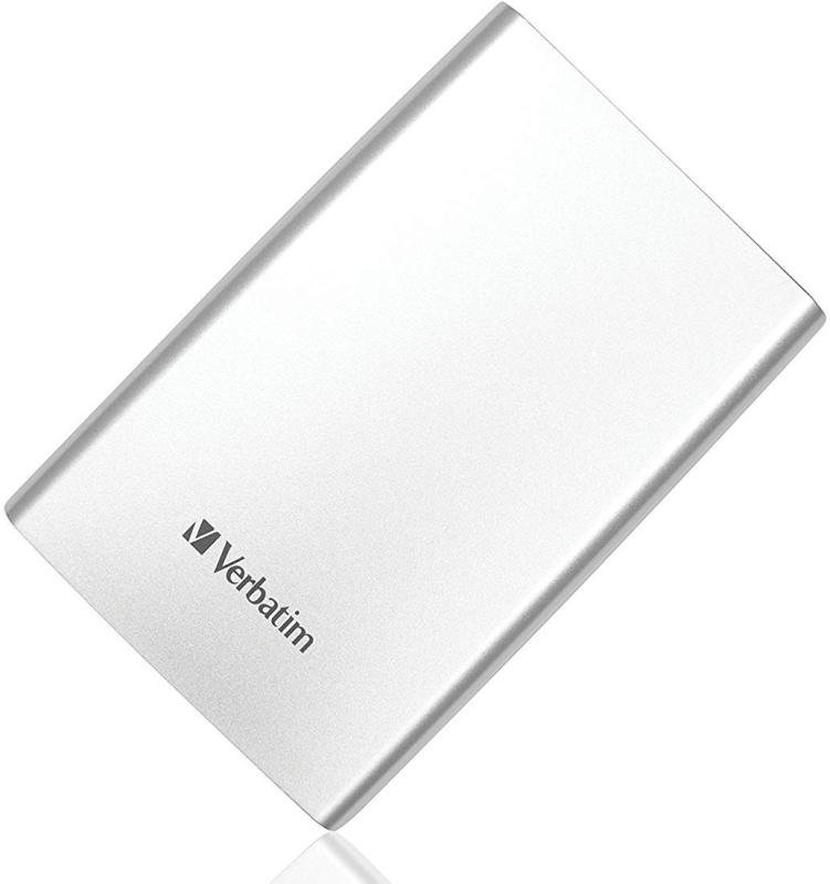 Verbatim Store N Go 1tb Portable Hard Drive Usb 3.0 External (silver)