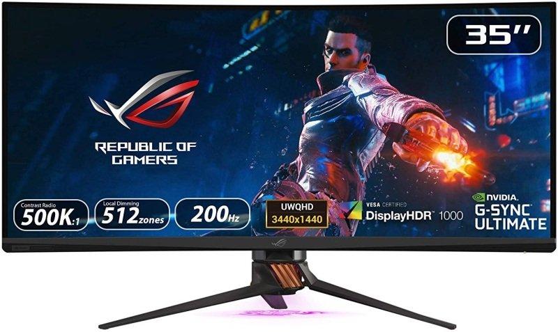"Asus ROG Swift PG35VQ 35"" UWQHD LED 200Hz Curved Gaming Monitor"