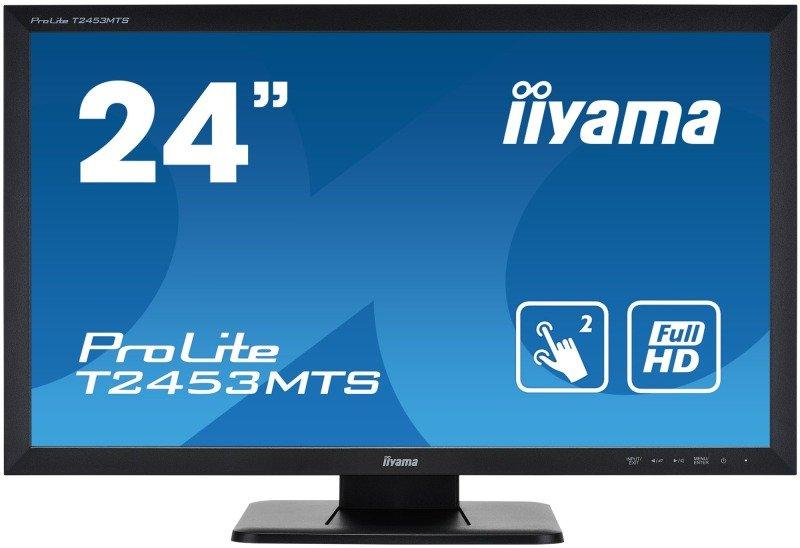 "EXDISPLAY Iiyama ProLite T2453MTS-B1 24"" Full HD Dual Touch Screen Monitor"