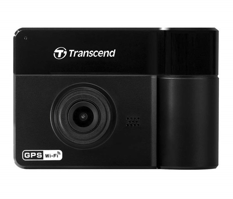 Transcend Drivepro 550A Dual Lens Dash Camera - With 64GB MicroSD