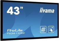 Iiyama T4361MSC-B1 43 Black Full HD Interactive Display