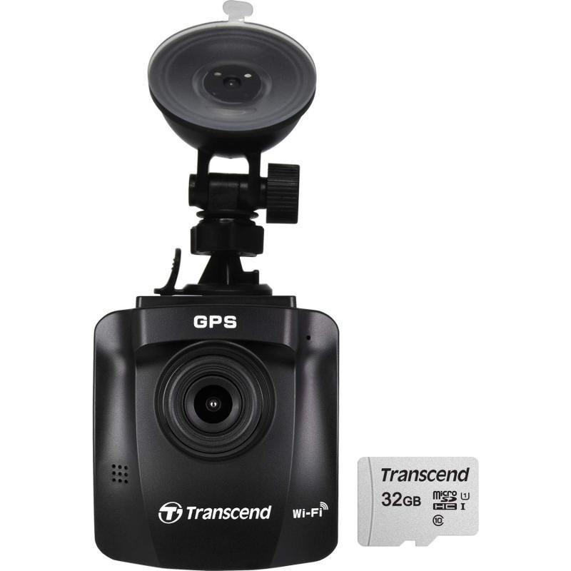 Transcend DrivePro 230 Dash Camera - With 32GB MicroSD