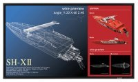Sharp 50 Black Large Format Display 4k Uhd 350 Cd/m2 16/7 Operation 3 X Hdmi