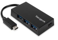 USB-C HUB - 3X USB-A 1X USB-C BLACK