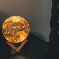 Starry Night Lamp 3 Colours - Touch Sensor - Large (15cm)