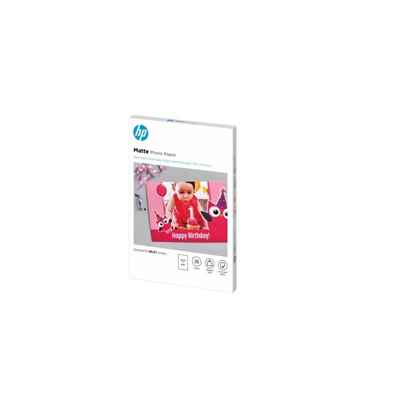 HP Matte FSC Photo Paper 4x6 25 sheets
