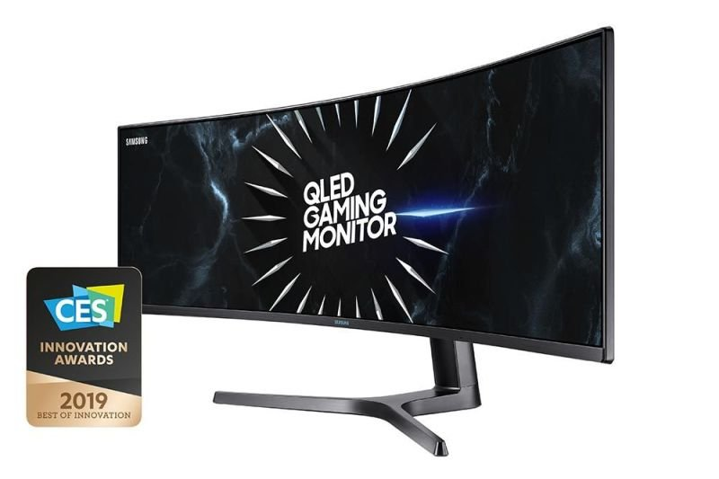 "EXDISPLAY Samsung C49RG90 49"" QLED Curved Ultra Wide Dual QHD Gaming Monitor"