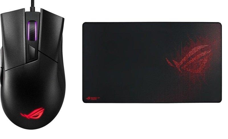 ASUS ROG Gladius II Core Lightweight, Ergonomic, Wired Optical Gaming Mouse with 6200-DPI Sensor, RO