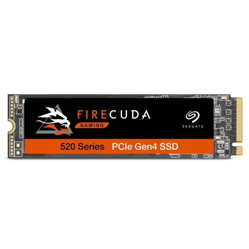 Seagate 500GB  FireCuda 520 Performance Internal SSD PCIe Gen4 x4 NVMe