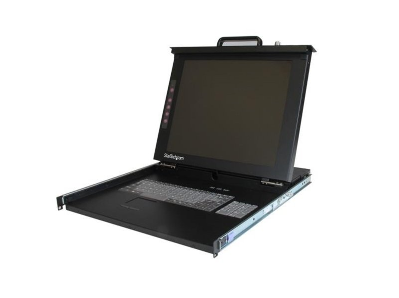 "StarTech 1U 17"" Rackmount LCD Console - USB + PS/2"