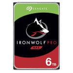 "Seagate IronWolf PRO 6TB NAS Hard Drive 3.5"" 7200RPM 256MB Cache (CMR)"