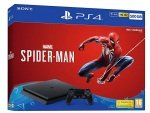 Sony Playstation 4 500GB Console (Black) with Marvel's Spider-Man GOTY