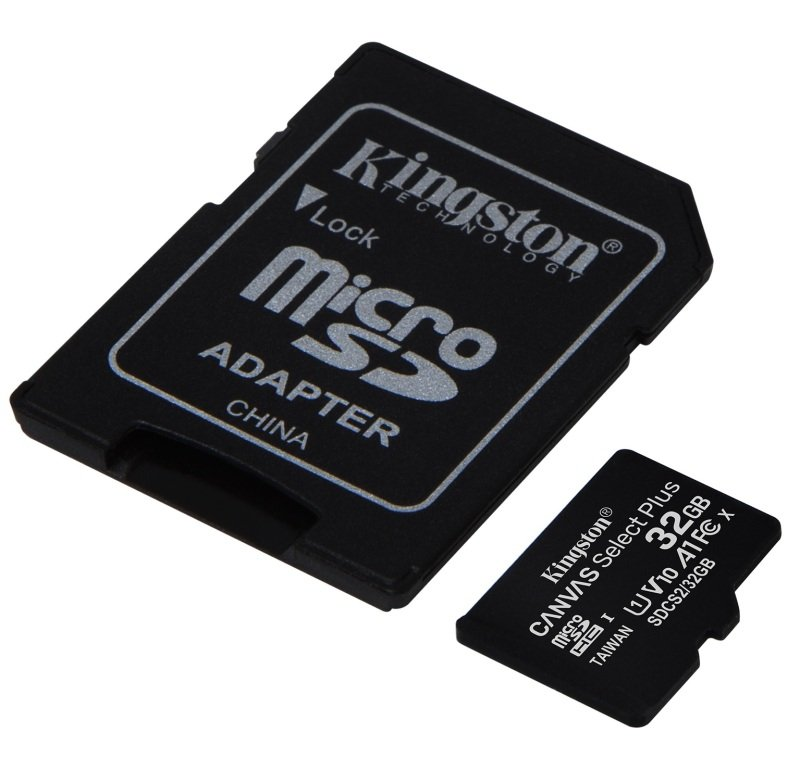 Image of Kingston Canvas Select Plus 32GB microSD