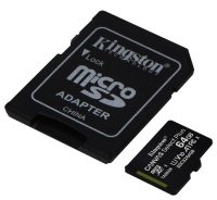 Kingston Canvas Select Plus 64GB microSD - With Adaptor