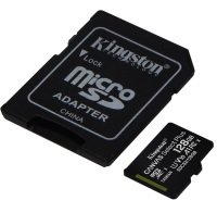 Kingston Canvas Select Plus 128GB microSD - With Adaptor