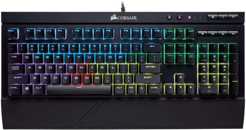 Corsair K68 RGB Gaming keyboard - Cherry MX Blue Switch