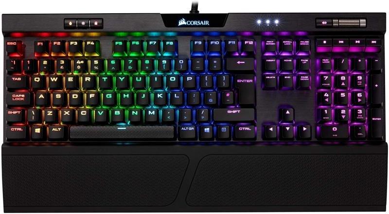 Image of Corsair K70 MK.2 RGB Cherry MX Red Mechanical Gaming Keyboard