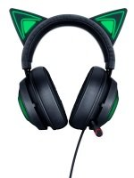 Razer Kraken Kitty - Kitty Ear USB Headset with Chroma - Black