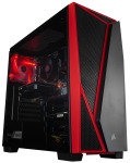 AlphaSync Vulpes SPEC-G3 Ryzen 3 8GB RAM 1TB HDD 120GB SSD GTX 1050 Ti Gaming Desktop PC