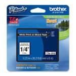 Brother TZe 315 Laminated adhesive tape- White on Black