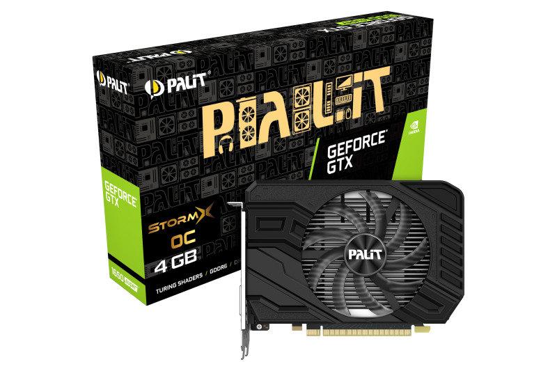Palit GeForce GTX 1650 SUPER StormX OC 4GB Graphics Card