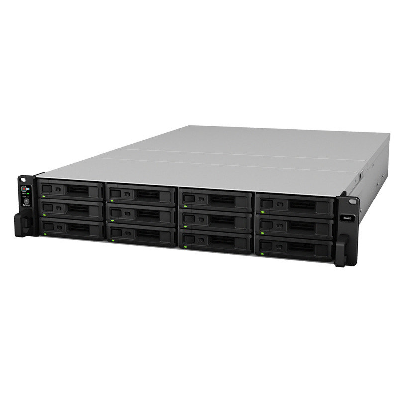 Synology SA3400 144TB 12 Bay NAS Rack Unit