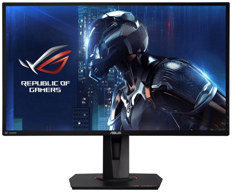 "ASUS ROG Swift PG279QE 27"" 2K WQHD IPS Overclockable 165Hz G-SYNC Gaming Monitor"