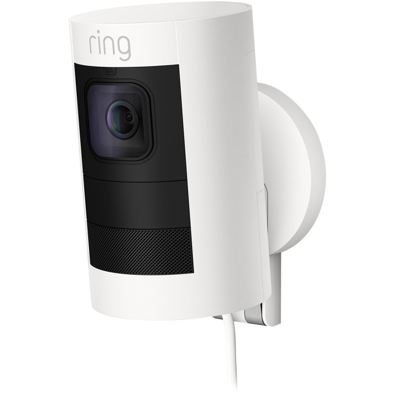 Image of Ring Stick Up Cam Elite Wired - White