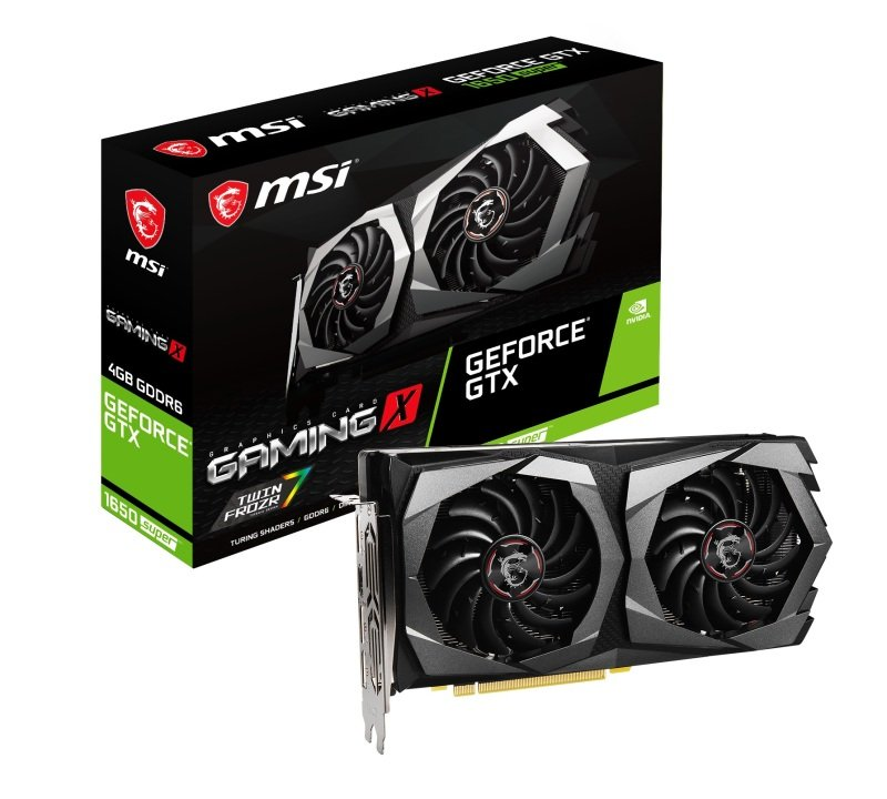 MSI GeForce GTX 1650 SUPER GAMING X 4GB Graphics Card