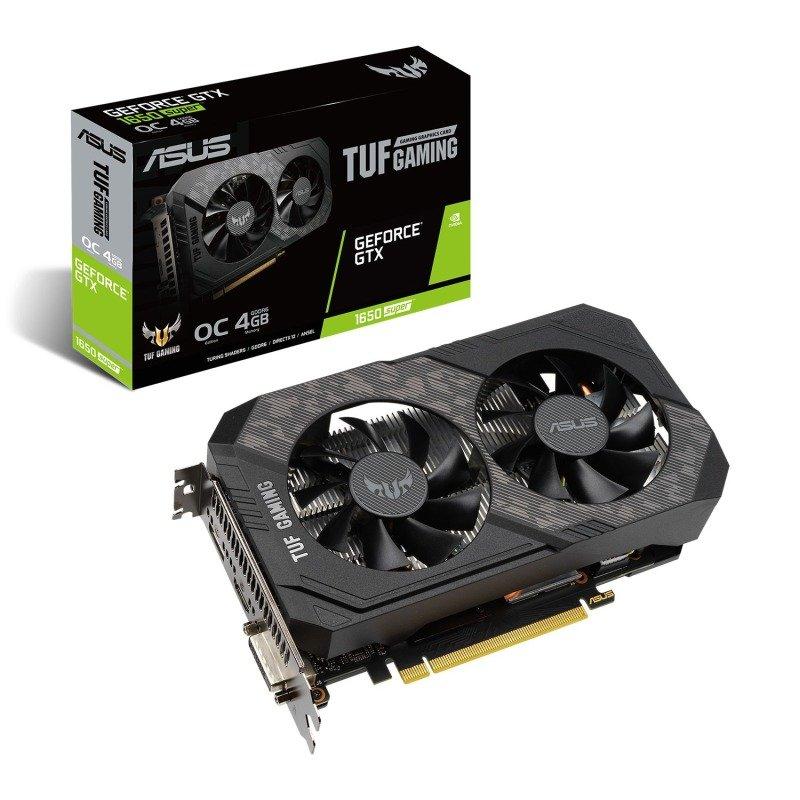 ASUS TUF GeForce GTX 1650 SUPER 4GB OC Graphics Card