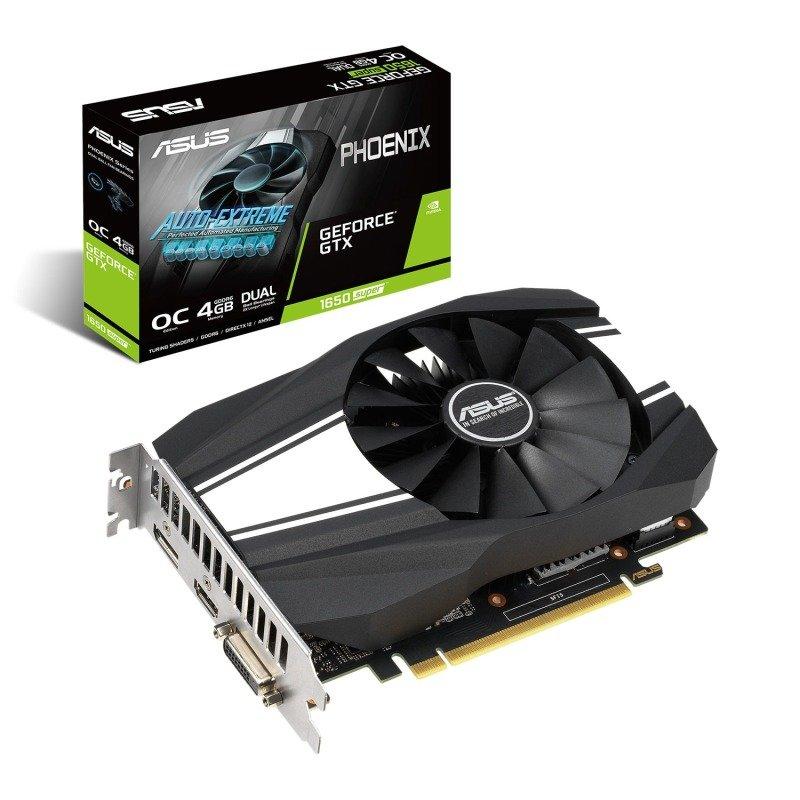 ASUS GeForce GTX 1650 SUPER PHOENIX OC 4GB Graphics Card