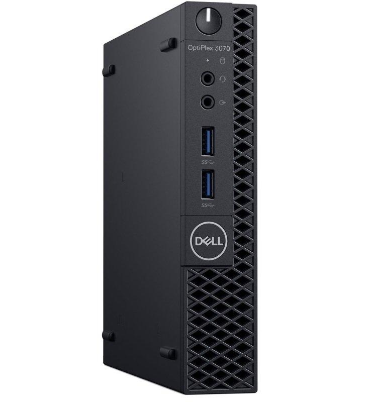 Dell Optiplex 3070 Core i3 9th Gen 4GB RAM 128GB SSD Win10 Pro MFF Desktop PC
