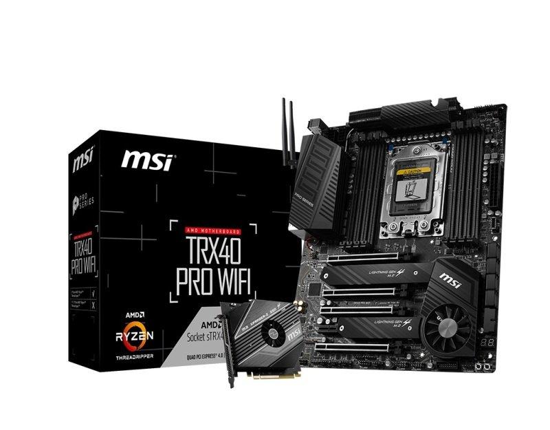 MSI TRX40 Pro WiFi PCIe 4.0 ATX Motherboard