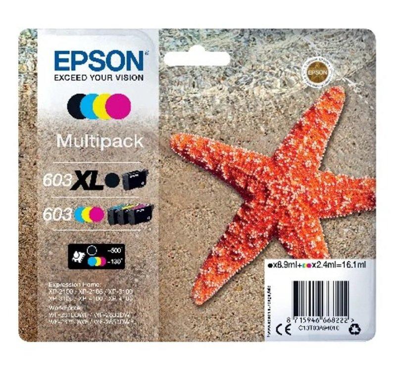 Starfish Mltipk 4cl 603 Xl Blk Cmy