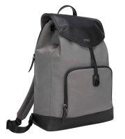 "Newport 15"" Drawstring Laptop Backpack Grey"