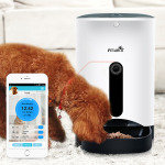 EXDISPLAY Petwant Automatic Pet Feeder with Video Monitoring and Smart App