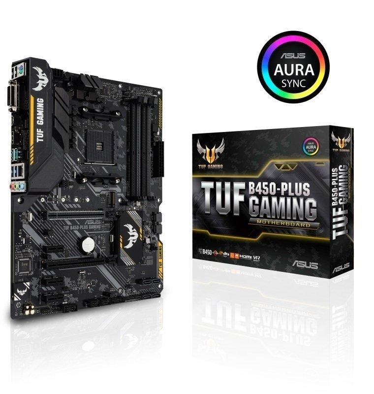 EXDISPLAY Asus TUF B450-PLUS GAMING AM4 DDR4 ATX Motherboard