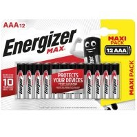 Energizer AAA Max Carded 8+4