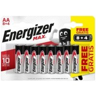 Energizer AA Max Carded 8+4