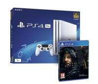 PS4 Pro 1TB With Death Stranding - White