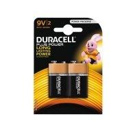 Duracell Plus Power 9V 2 Pack