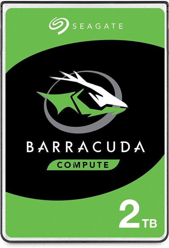 "Seagate BarraCuda 2TB Laptop Hard Drive 2.5"" 7mm SATA III 6GB's 5400RPM 128MB Cache"