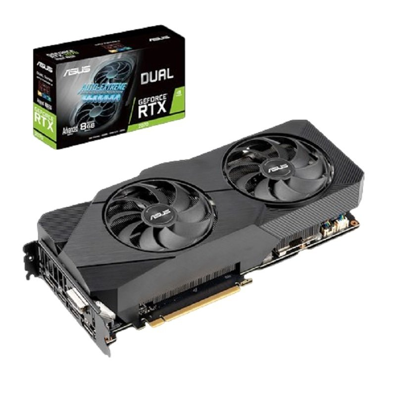 Asus GeForce RTX 2070 Dual EVO Advanced 8GB Graphics Card